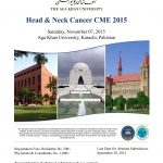 CME on Head and Neck Cancer at Aga Khan University