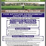 MBBS and BDS Admission in Peshawar Medical College