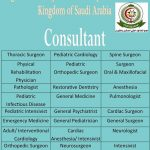 Dental and Medical Consultants required for Saudi Arabia