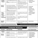 Dental and Medical Specialists required at The University of Lahore