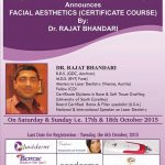 Facial Aesthetics Certificate Course in India