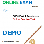 Online Demo Paper of FCPS Part 1 for Pharmacology