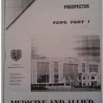 Syllabus of FCPS Part 1 Medicine and Allied