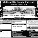 MBBS at Mohi-ud-Din Islamic University AJK