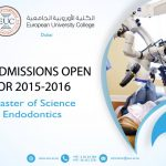 Master of Science in Endodontics at European University College Dubai
