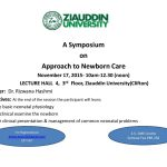 Symposium on Approach to Newborn Care