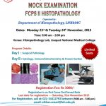Mock Examination FCPS II Histopathology by LNH