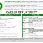 Medical and Dental Jobs at Shahid Afridi Foundation