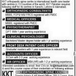 Medical Careers at KKT Pakistan