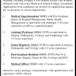 Medical Vacancies at Madinah Teaching Hospital