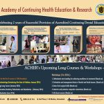 ACHER's Courses & Workshops 2016