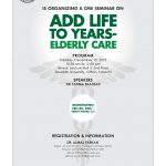 CME Seminar on Ad Life to Years-Elderly Care