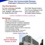 Symposium on Non Communicable Diseases