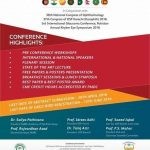 XIIIth Congress of SAARC Academy of Ophthalmology Karachi 18-21 August 2016