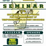 Seminar on Multidisciplinary Approach for the Management of Temporo Mandibular Joint Disorder