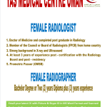 Female Radiologist and Radiographer Required at YAS Medical Center Oman