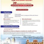 20 International Conference Rheumatology Care Raising The Bar 15-17 April 2016