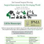 2nd Annual Surgical Meeting at Aga Khan University October 21-22 2016