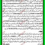 Walk in Interview for the posts of Medical Officers, Lady Medical Officers and Dental Surgeons at Health Department Punjab 2016