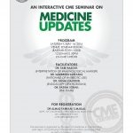 An Interactive CME Seminar on Medicine Updates 14 May 2016