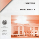 Prospectus of FCPS Part 1 Medicine and Allied