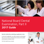 NBDE Part II Guideline 2017